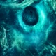 Abstract Green Nebula in Outer Space - VideoHive Item for Sale