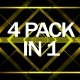 Abstract Gold Vj Pack - VideoHive Item for Sale
