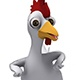 Cartoon Rooster Chicken Dance - VideoHive Item for Sale