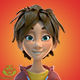 Kid Character 21 Actions - VideoHive Item for Sale