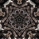 Silver Art Deco Ornament Kaleidoscope - VideoHive Item for Sale