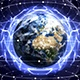 2 Earth, Connection Network Concept - VideoHive Item for Sale