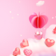 Heart Shaped Hot Air Balloon Background - VideoHive Item for Sale