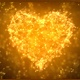 Gold Plexus Valentine's Day Heart  - VideoHive Item for Sale