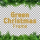 Green Christmas Frame - VideoHive Item for Sale