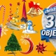 Christmas 3D Animated Objects - VideoHive Item for Sale
