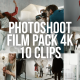 Collection of Photoshoot in a Studio - Pack of 10 Clips - VideoHive Item for Sale