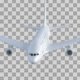 Airplane Flight Isolated - VideoHive Item for Sale