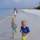 Happy Family Beach Run - VideoHive Item for Sale