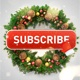 Youtube Subscribe Button (Christmas Edition) - VideoHive Item for Sale
