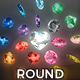 Gem Stones Pack 3 - Round - VideoHive Item for Sale