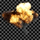Big Explosion from Above 4K - VideoHive Item for Sale