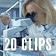 Collection of Medical and Science Research - Pack of 20 Clips in 4K - VideoHive Item for Sale