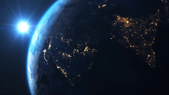 Earth Space 4k By Innovation Studio Videohive