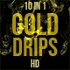 Gold Drips - VideoHive Item for Sale