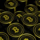 Golden Bitcoin Visuals - VideoHive Item for Sale