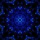 Symmetrical Glittering Blue Energy Loop 4K 01 - VideoHive Item for Sale