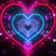 4k Heart Stars Galaxy Tunnel - VideoHive Item for Sale