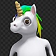Happy Unicorn Cartoon - VideoHive Item for Sale