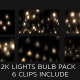 2K Lights Bulb Pack Background  Pattern - VideoHive Item for Sale