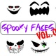 Spooky Faces Vol 1 - VideoHive Item for Sale
