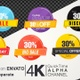 30 Percent Sales Discount Banner - VideoHive Item for Sale