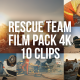 Collection of Rescue Team Working on a Car Crash Accident - Pack of 10 Clips - VideoHive Item for Sale