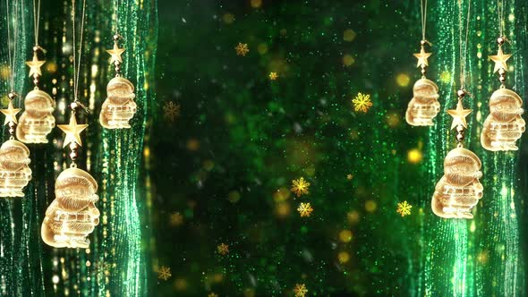 Christmas Ornaments Background.Christmas Decorations Background 3