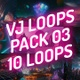 VJ Loops Pack 03 - Sci Fi Psychedelic Trippy Cinematic Mix - VideoHive Item for Sale