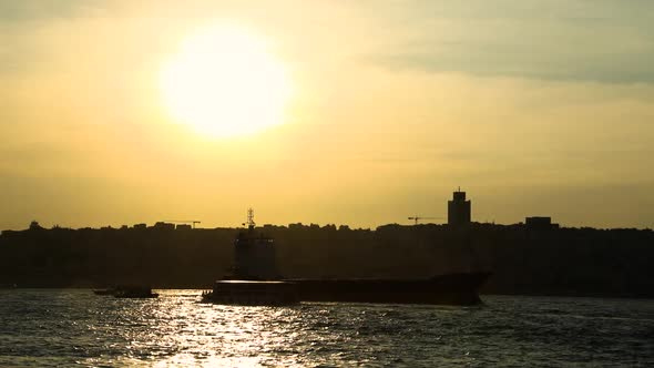 VideoHive Freighter Sunset 20429310