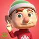 Christmas Gnome Actions - VideoHive Item for Sale