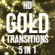 Gold Swirls Transitions - VideoHive Item for Sale