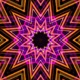 Neon Kaleidoscope Background Looped Pack - 20
