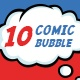 10 Pack Comic Bubble - VideoHive Item for Sale