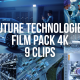 Collection of Future Technologies Visualisation and Computer Graphic in Workplaces - Pack of 9 Clips - VideoHive Item for Sale