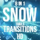 Christmas Snow Transitions - VideoHive Item for Sale