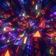Tribal Neon Triangles Form - VideoHive Item for Sale