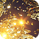Gold Splinters Backdrop - VideoHive Item for Sale