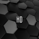 Black Abstract Hexagonal Grid - VideoHive Item for Sale