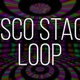 Disco Stage Colorful Background