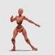 Bot Woman with Dancing Hiphop 03 - VideoHive Item for Sale