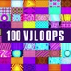 100 Neon Vj Loops Pack - VideoHive Item for Sale