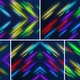 Abstract Colorful Line Particles Background Pack - VideoHive Item for Sale