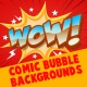 Comic Bubble Backgrounds - VideoHive Item for Sale