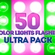 Color Lights Flashing Ultra Pack - VideoHive Item for Sale