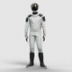 Astronaut Looking Around His New Spacesuit  - VideoHive Item for Sale