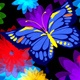 Colorful Flowers And Butterflies - VideoHive Item for Sale