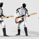 Astronaut Playing Guitar - VideoHive Item for Sale