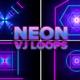 Neon Cyber Vj Loops Pack - VideoHive Item for Sale
