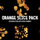 Orange Slice Pack (6 footages) - VideoHive Item for Sale